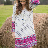 Berry Much In Love Dress, Ivory