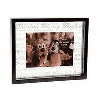 Disney Parks Picture Frame Clear Glass Sharing Disney Magic New with Box