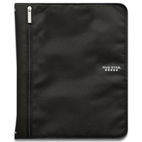 Five Star Customizable Binder with Removable Fixture, 1-Inch, Black (72977)