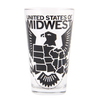USMW Logo Pint Glass