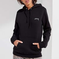 Stussy + UO Smooth Stock Hoodie Sweatshirt | Urban Outfitters
