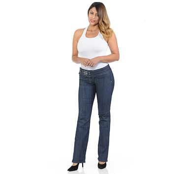 Pasion Women's Jeans - Push Up - Bootcut - Style S0238