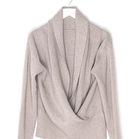 Cashmere Knit Loose Sweater