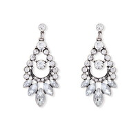 Rhinestone Drop Earrings