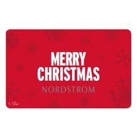 Nordstrom 'Merry Christmas 2014' Gift Card