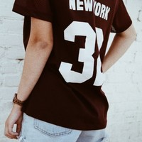 FIONA NEW YORK 32 JERSEY TOP