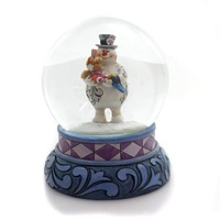 Jim Shore A VERY SPECIAL KIND OF SNOW Glass Frosty The Snowman 4058191