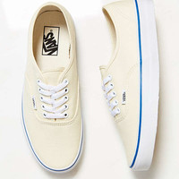 Vans Authentic Ivory Canvas Sneaker | Urban Outfitters