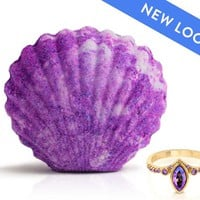 Mermaid - Fairytale Collection - Bath Bomb With a Ring and a Chance to Win a $10k Ring
