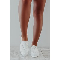 Clear To Me Sneakers: White