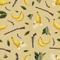 Wild West Gone Bananas Removable Wallpaper
