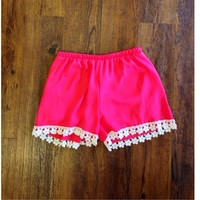The Emily Shorts - Coral: Blush Boutique & Specialty Shop