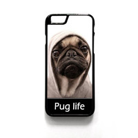 New Design Funny Hilarious Pug Life Parody fans For Iphone 4/4S Iphone 5/5S/5C Iphone 6/6S/6S Plus/6 Plus Phone case ZG