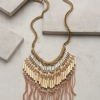 Mireya Fringe Necklace by Anthropologie Neutral Motif One Size Necklaces