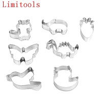 Multi Shape High Quality Pastry Baking Mould Cookies Cutter Cake Mold Biscuit Stainless Steel Bakeware Tool