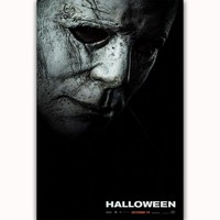 FX014 Halloween Return Movie 2018 Hot Horror Classic Terror Film Poster Art Picture Large Silk Canvas Room Wall Printing Decor
