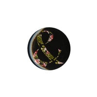 Of Mice & Men Floral Ampersand Pin