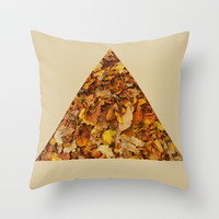 Autumn Leaves Throw Pillow by StevenARTify