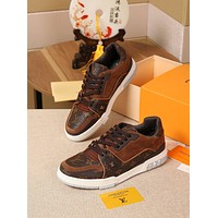 lv louis vuitton womans mens 2020 new fashion casual shoes sneaker sport running shoes 156