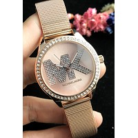 MK Tide brand women's simple fashion diamond diamond watch #3