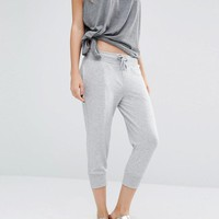 Only Play | Only Play Light Gray 3/4 Sweat Pants at ASOS