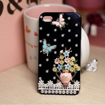 Juicy Couture Inspired iPhone 4 case
