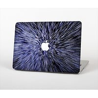 The Purple Zooming Lights Skin Set for the Apple MacBook Air 11""