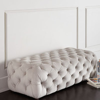 Grace Tufted Bench