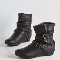 Bring the Flair Bootie in Black