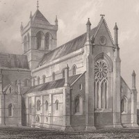 Antique Print Kirkwall Cathedral, S.E. Scotland (A36) by Grandpa's Market