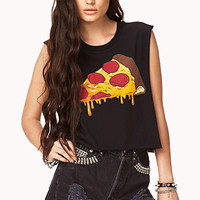 Cheesy Cropped Muscle Tee