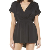Astoria Wrap Front Playsuit | David Jones