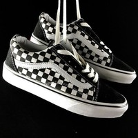 LV  Vans   Supreme Louis Vuitton Red Casual Sport Shoes Sneakers