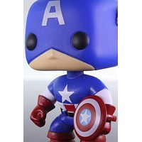 Funko Pop Marvel Universe, Captain America Bobble Head #06