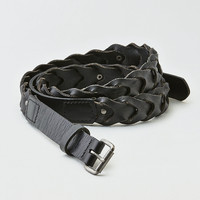 AEO Twist Stud Belt, Black