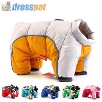 Pet Dog Super Warm Jacket Thick Cotton Coat Waterproof for Small Dogs Pet Clothes FREE SHIPPING