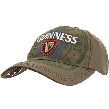 Guinness - Flocked Clover Flex-Fit Cap with Bottle Opener