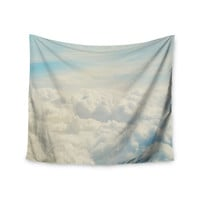 """Chelsea Victoria """"Life Is But A Dream"""" Nature Blue Wall Tapestry"""