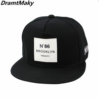 Trendy Winter Jacket Fashion Brooklyn Letters Baseball Cap for Men Women Unisex Baseball Cap Hip Hop Caps Sun Hat Snapback Hats BROOKLYN film NEW AT_92_12