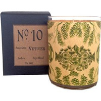 Vetivert Wood Candle No. 10