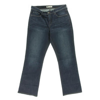 Levi's Womens Plus 512 Embellished Perfectly Shaping Boot Cut Jeans