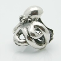 Octopus Ring Sterling Silver