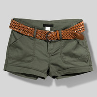 Combat Ready Shorts - Olive Green