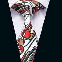 New Arrival Colorful Floral Cotton Ties For Men Party Vintage Printed Fashion Necktie Design Neckwear High Quality