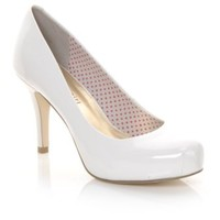 Women's Madden Girl Getta White Pat | Shoe Carnival