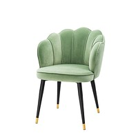 Green Scalloped Dining Chair | Eichholtz Bristol