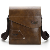 Fashion Brand Men's Business Bags PU Leather Man Handbags Men Messenger Bag Quality Men's Travel Bag over His Shoulder VP-17