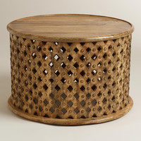 Tribal Carved Coffee Table - World Market