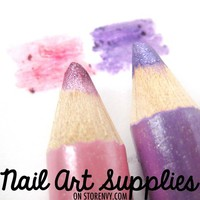 nailartsupplies | Pink Pastels - Pink Purple Shimmer Double Color Glitter Eye Shadow Highlight Duo Pencil | Online Store Powered by Storenvy