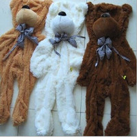 1pcs 100cm three colors big teddy bear skin coat plush toys stuffed toy baby toy birthday gifts Christmas gifts